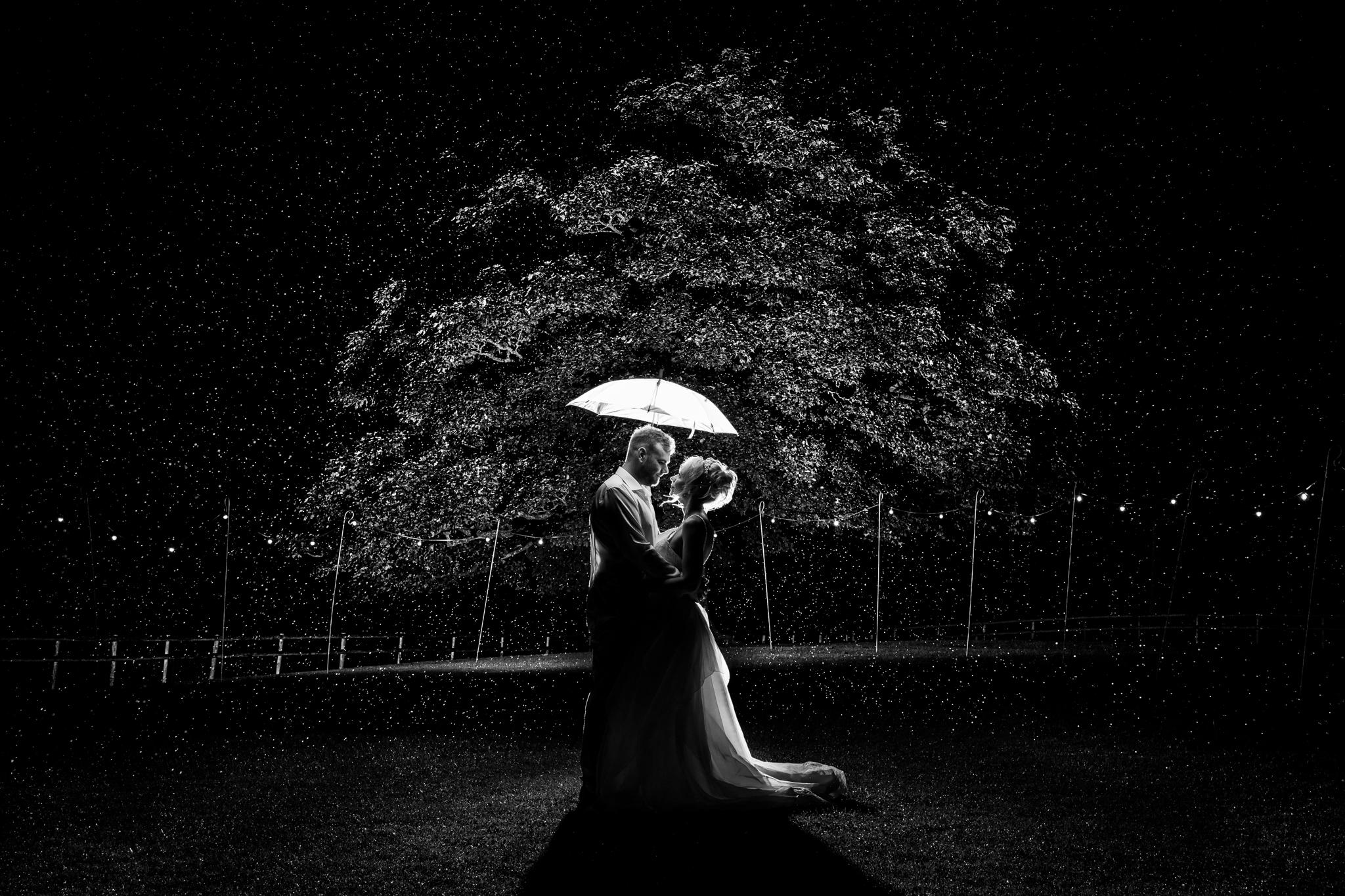 Heaton House Farm night wedding photography